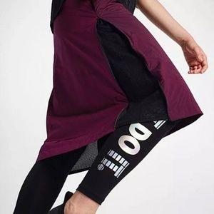 Nike Sportswear Tech Hypermesh Skirt Berry Black